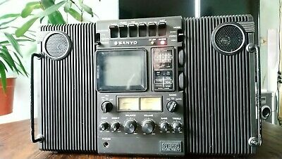 Sanyo MT-4240 Ghettoblaster Radio TV