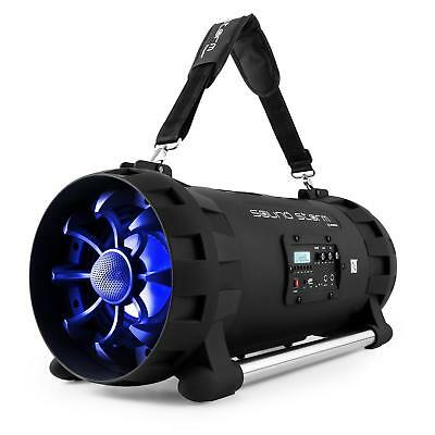 [B-Stock] Boombox Portable Stereo Speakers Bluetooth Battery NFC USB FM Tuner Pa
