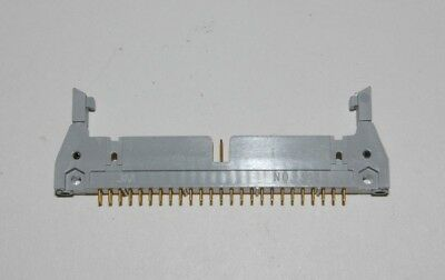 3M 3433 PCB Mount 50 Pin Male Straight Long Latching Connector