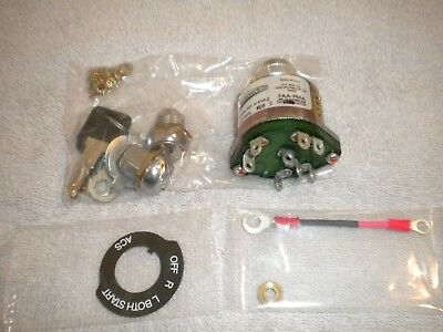 ACS Ignition Switch w/ Starter Position and 2 Lock Cylinders A510-2K
