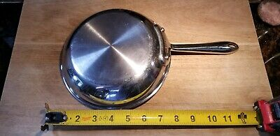 """All-Clad 7.5"""" Stainless Steel Skillet Fry Pan Saute 7 1/2 inch"""