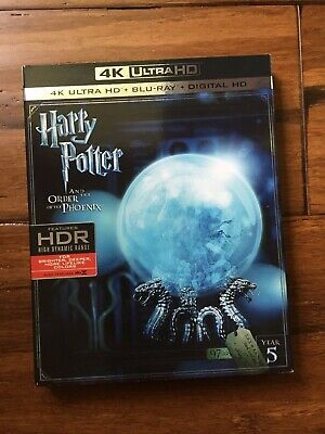Harry Potter Year 5 Order Of The Phoenix 4K Ultra + Blu-Ray (No Digital)