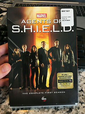 Marvel Agents of S.H.I.E.L.D.: The Complete First Season (DVD, 2014, 5-Disc Set)