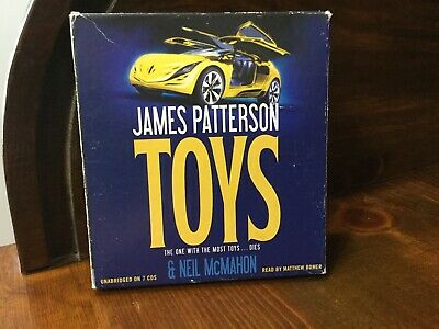 Toys by James Patterson and Neil McMahon Audio Book On CD Unabridged