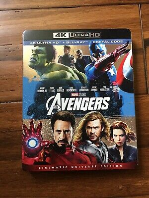 Avengers, The (4K UHD Blu-ray, 2-Disc Set, NO DIGITAL CODE)