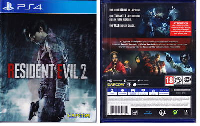 Jeux Video - Playstation Ps4 - Resident Evil 2  -