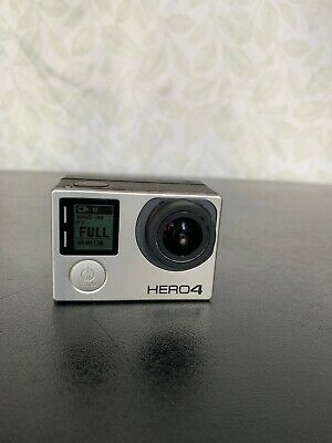 GoPro HERO4 Black Action Camera + Detachable LCD Touchscreen