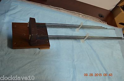JAUCH GRANDFATHER CLOCK 8 tune Chime Rod RARE for PROJECT