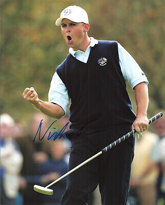 NICLAS FASTH Signed 8x10 Photo PGA Golf Autographed Photograph