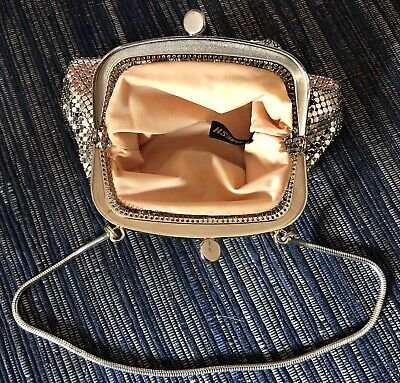 Vintage original Glomesh Gold Bag/Purse In Excellent Condition