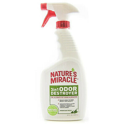 Nature's Miracle - 3 in1 Odor Destroyerr Mountain Fresh - 24 fl. oz. (710 ml)