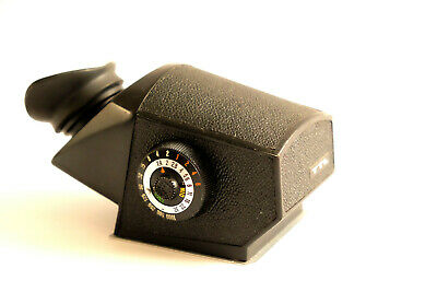 Kiev 88 prism finder with photometer (compatible with Hasselblad 500).