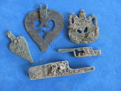 Wonderful LOT ANCIENT BRONZE AND IRON ARTIFACTS