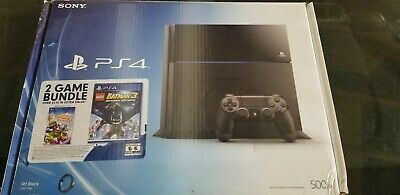 Sony PlayStation 4 Edition 500GB Jet Black Console PS4