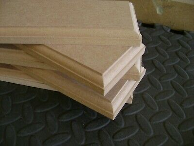 Wooden MDF Circles Squares rectagles Signs craft plaques plinth 18mm  Blanks