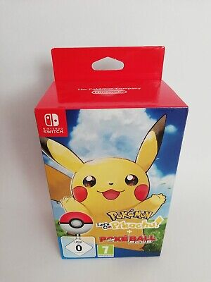 Pokemon: Let's Go, Pikachu! + Pokeball Plus [Nintendo Switch] Deutsch NEU + OVP