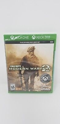 Call of Duty: Modern Warfare 2 - Rare Xbox 1 One Version & 360 - New Sealed
