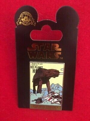 Disney * STAR WARS EPISODE V - ICE PLANET HOTH * POSTER SERIES * New Trading Pin
