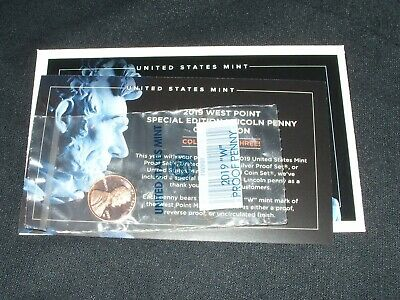 2019-W Proof West Point Special Edition Lincoln Shield Cent