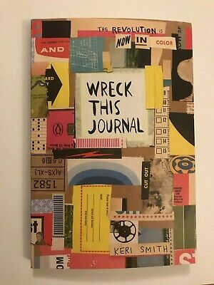 Wreck This Journal: Now in Colour by Keri Smith Paperback Book Brand New