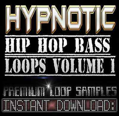 HYPNOTIC BASS SYNTH SOUNDS WAV LOOP SAMPLES Hip Hop Akai Reason Fl Studio Logic