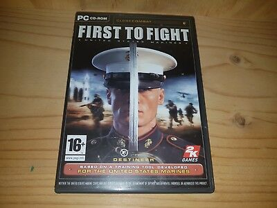 First To Fight / Close Combat PC CD-ROM Game