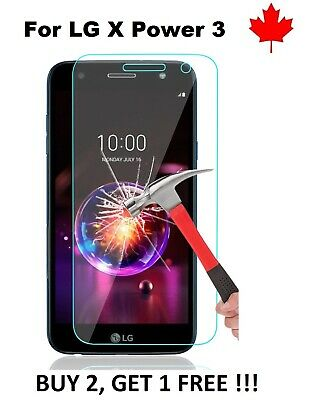 For LG X Power 3 (LMX510WM) - Tempered Glass HD Hard Screen Protector Cover