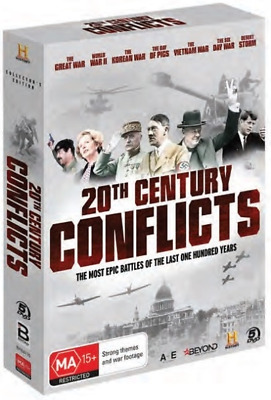20th Century Conflicts | Collector's Edition (DVD, 2019) (Region 4) New Release