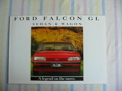 Ford Falcon Gl Xfii Booklet 3 1987 Brochure Excellent Condition
