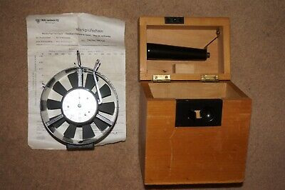 Lambrecht Anemometer Model 1405A, Metric Measurement. Made In Germany