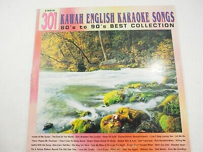 Kawah ENglish Karaoke Songs 60's to 90's Best Collection Video Disc Kweld 301