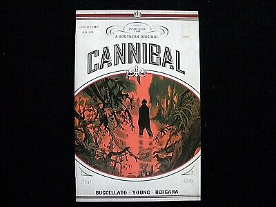 CANNIBAL #1 from 2016 Image Comics 1st Print Brian Buccellato with Bag & Board