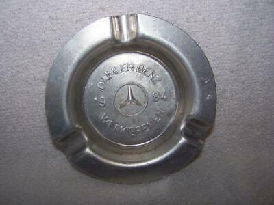 Vintage Daimler-Benz ashtray Werk Bremen 1984 Mercedes Benz emblem German car
