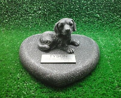 Dog Large Pet Memorial/headstone/stone/grave marker/memorial with plaque 10