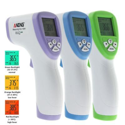 LCD Body Skin Digital Non-contact IR Infrared Thermometer Temperature Meter GA