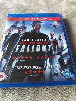 Tom Cruise Mission Impossible Fallout Blu Ray
