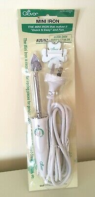 CLOVER - Mini Iron - for Crafts, Quilting, Sewing, Patchwork - AN8500