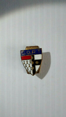 ANCIEN BADGE insigne boutonniere FOOT CORT CLUB OLYMPIQUE ROUBAIX TOURCOING  L71
