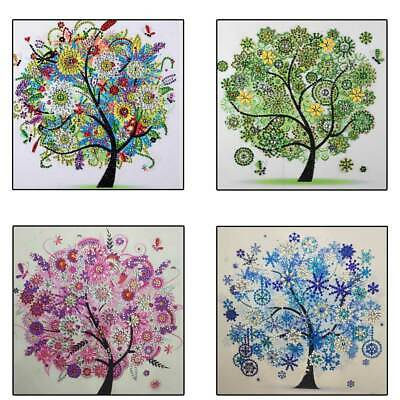 Home Flower Tree 5D Special Diamond Painting Embroidery Cross Stitch Craft Kit