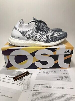 c2fd1fe8e0e99 Adidas Ultra Boost Uncaged Non Dyed White Oreo US Size 9 Mens Yeezy Lightly  Used