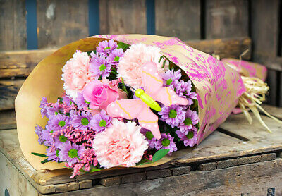 Fresh real Flowers Delivery Bouquet Free Gift Message flowers mothers day roses