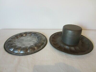 Vintage Very Unusual Tin Mould For Jelly Pudding Cake ? Bakeware