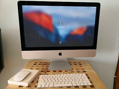 Apple iMac Computer 21.5 inch late 2015 excellent condition barely used