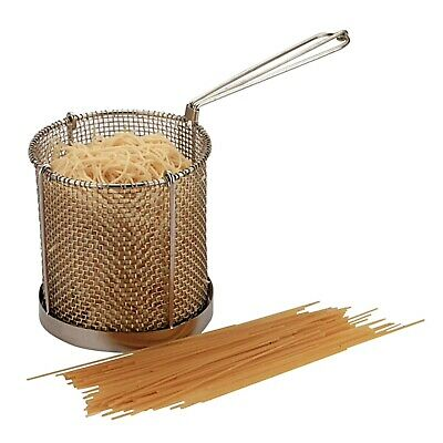 """6"""" x 6"""" Commercial Catering Spaghetti Pasta Basket Cooking Frying Kitchen Cafe"""