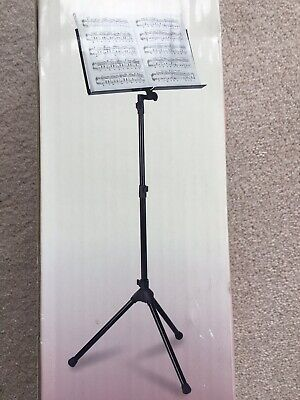 Metal Adjustable Music Sheet Stand Holder Folding for Performance Of  Music