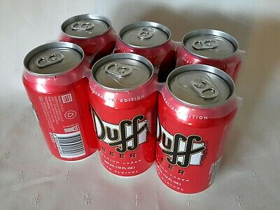 Duff Beer ( The Simpsons ) 6 Pack Unopened (Not Suitable For Drinking) . BERWICK