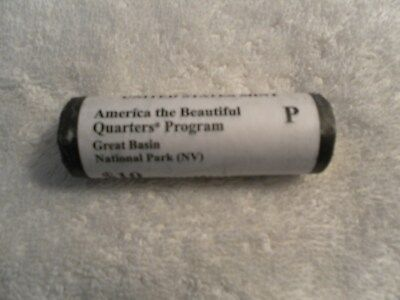 2013 P U.S. Mint ATB Quarter Roll of Great Basin National Park