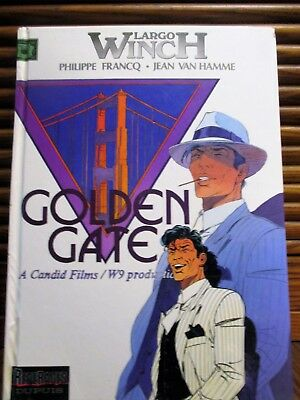 Largo Winch - 11 - Golden gate - EO - Francq Van Hamme