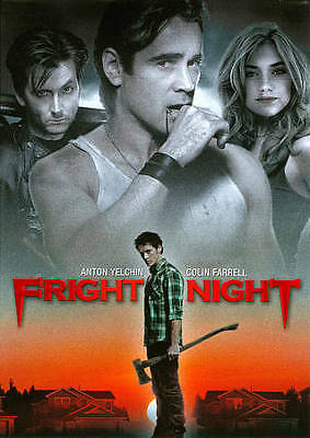 Fright Night (DVD) VERY GOOD DISC + COVER ARTWORK - NO CASE