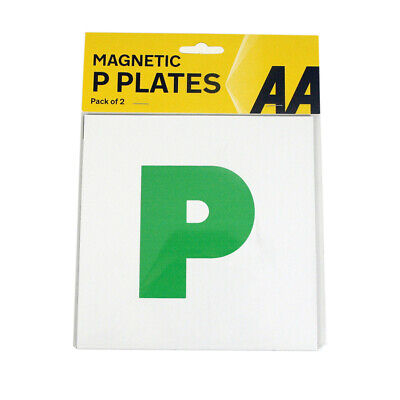 2x  AA Fully Magnetic P Plates Just Passed